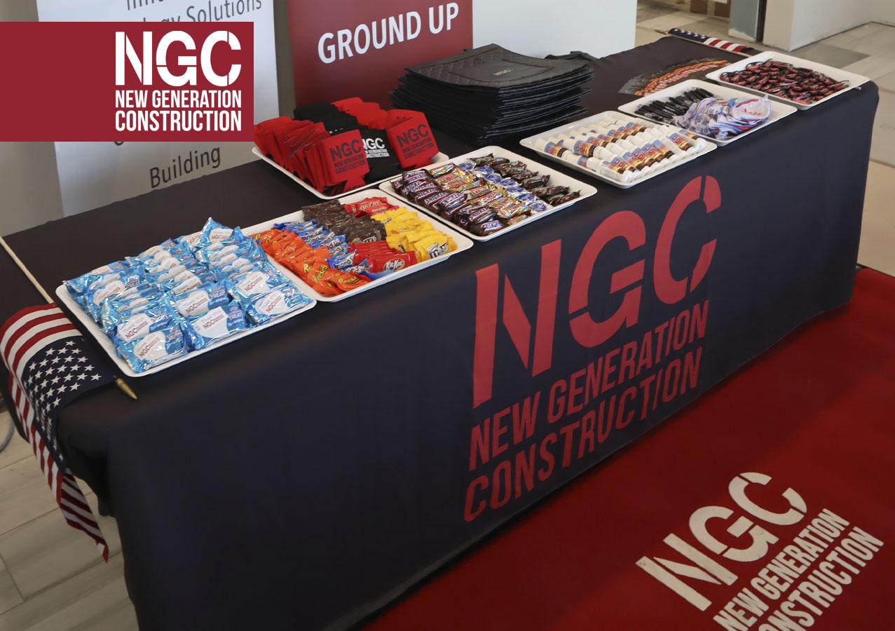 NGC Booth Show Table