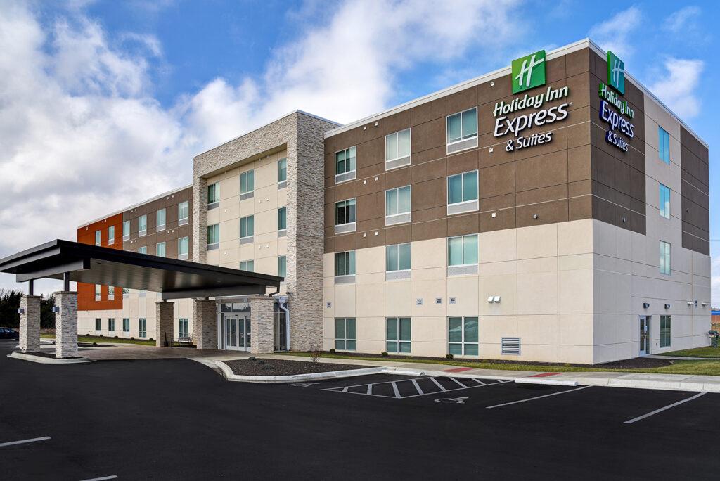 NGC Finalized Holiday Inn Express in Ottawa Kansas