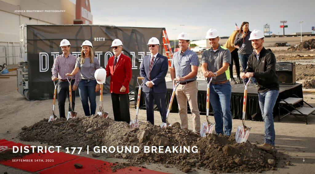NP Ground Break