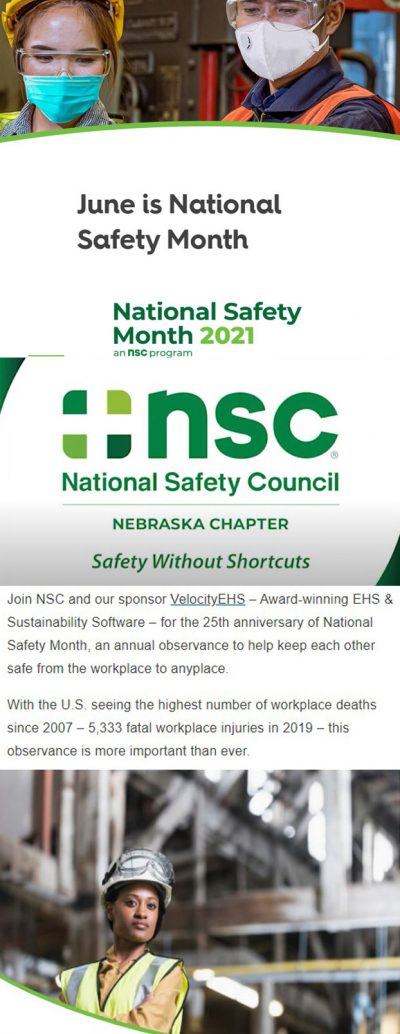 June Safety Month NGC NSC